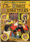 Cover for Classic Comics (Gilberton, 1941 series) #1 - The Three Musketeers [HRN 10]