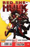 Cover for Red She-Hulk (Marvel, 2012 series) #60