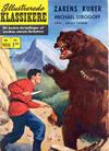 Cover for Illustrerede Klassikere (I.K. [Illustrerede klassikere], 1956 series) #105 - Zarens kurer Michael Strogoff