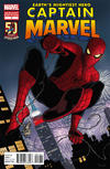 Cover Thumbnail for Captain Marvel (2012 series) #1 [50 Years of Spider-Man Variant]