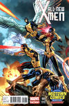 Cover for All-New X-Men (Marvel, 2013 series) #1 [Midtown Comics Exclusive Variant Cover by J. Scott Campbell]