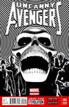 Cover for Uncanny Avengers (Marvel, 2012 series) #2 [Black & White Sketch Variant Cover by John Cassaday]