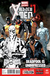 Cover for All-New X-Men (Marvel, 2013 series) #1 [Deadpool Is Unimpressed Sketch Variant Cover by Stuart Immonen]