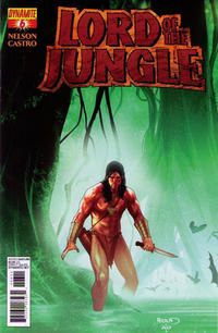 Cover Thumbnail for Lord of the Jungle (Dynamite Entertainment, 2012 series) #6 [Cover B]