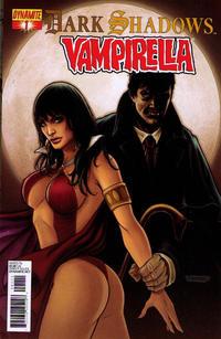 Cover Thumbnail for Dark Shadows / Vampirella (Dynamite Entertainment, 2012 series) #1