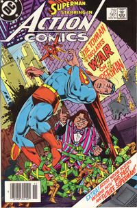Cover Thumbnail for Action Comics (DC, 1938 series) #561 [Newsstand]