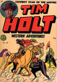 Cover Thumbnail for Tim Holt Western Adventures (Superior, 1948 ? series) #22