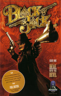 Cover Thumbnail for Black Jack (Antidote Comics, 2007 series) #1