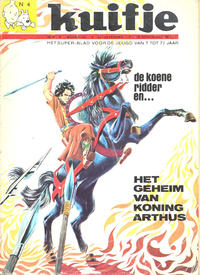Cover Thumbnail for Kuifje (Le Lombard, 1946 series) #4/1970