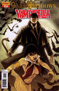 Cover for Dark Shadows / Vampirella (Dynamite Entertainment, 2012 series) #2