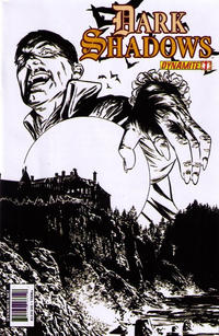 Cover Thumbnail for Dark Shadows (Dynamite Entertainment, 2011 series) #1 [2nd Printing Cover]