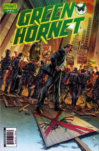 Cover Thumbnail for Green Hornet (Dynamite Entertainment, 2010 series) #22 [Lau]