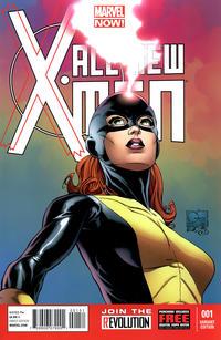 Cover Thumbnail for All-New X-Men (Marvel, 2013 series) #1 [Joe Quesada Variant]