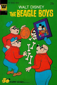 Cover Thumbnail for Walt Disney The Beagle Boys (Western, 1964 series) #18 [Whitman Variant]
