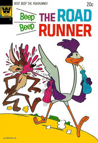 Cover Thumbnail for Beep Beep the Road Runner (Western, 1966 series) #38 [Whitman]