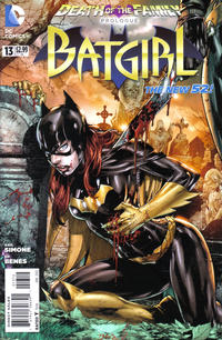 Cover Thumbnail for Batgirl (DC, 2011 series) #13 [Second Printing]