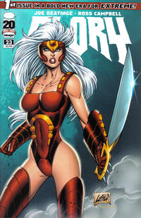 Cover Thumbnail for Glory (Image, 2012 series) #23 [Rob Liefeld variant cover]