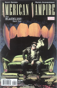 Cover Thumbnail for American Vampire (DC, 2010 series) #28 [Variant Cover by Greg Capullo]