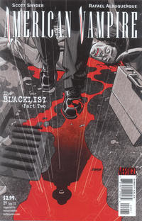 Cover Thumbnail for American Vampire (DC, 2010 series) #29 [Variant Cover by Dave Johnson]