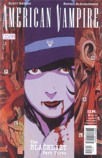 Cover Thumbnail for American Vampire (DC, 2010 series) #30 [Variant Cover by Francesco Francavilla]