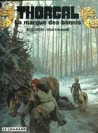 Cover for Thorgal (Le Lombard, 1980 series) #20 - La marque des bannis