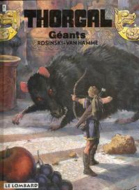 Cover Thumbnail for Thorgal (Le Lombard, 1980 series) #22 - Géants