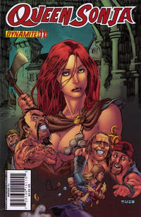 Cover Thumbnail for Queen Sonja (Dynamite Entertainment, 2009 series) #11 [Mel Rubi Cover]