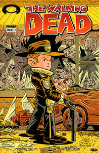 Cover Thumbnail for The Walking Dead (Image, 2003 series) #103 [Chris Giarrusso Cover]