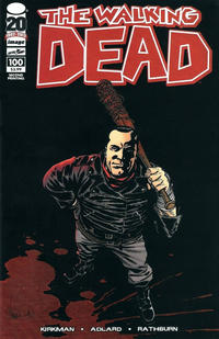 Cover Thumbnail for The Walking Dead (Image, 2003 series) #100 [2nd Printing Cover by Charlie Adlard]