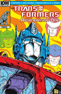 Cover Thumbnail for Transformers: Regeneration One (IDW, 2012 series) #86 [Cover B - Guido Guidi]
