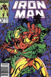 Cover for Iron Man (Marvel, 1968 series) #237 [Direct]