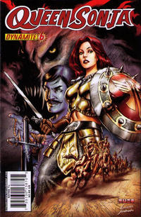 Cover Thumbnail for Queen Sonja (Dynamite Entertainment, 2009 series) #6 [Mel Rubi Cover]