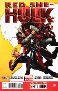 Cover Thumbnail for Red She-Hulk (Marvel, 2012 series) #60
