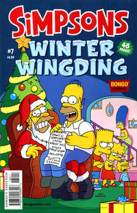 Cover Thumbnail for The Simpsons Winter Wingding (Bongo, 2006 series) #7