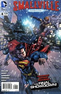 Cover Thumbnail for Smallville Season 11 (DC, 2012 series) #8