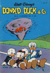 Cover Thumbnail for Donald Duck & Co (Hjemmet / Egmont, 1948 series) #46/1968