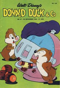 Cover Thumbnail for Donald Duck & Co (Hjemmet / Egmont, 1948 series) #47/1968