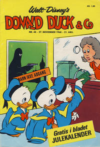 Cover Thumbnail for Donald Duck & Co (Hjemmet / Egmont, 1948 series) #48/1968