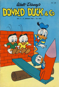 Cover Thumbnail for Donald Duck & Co (Hjemmet / Egmont, 1948 series) #2/1969
