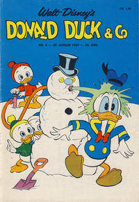 Cover Thumbnail for Donald Duck & Co (Hjemmet / Egmont, 1948 series) #5/1969