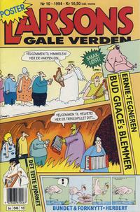 Cover Thumbnail for Larsons gale verden (Bladkompaniet / Schibsted, 1992 series) #10/1994