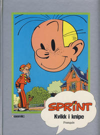 Cover Thumbnail for Sprint [Seriesamlerklubben] (Semic, 1986 series) #[11] - Kvikk i knipe