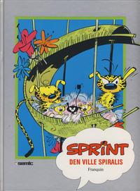 Cover Thumbnail for Sprint [Seriesamlerklubben] (Semic, 1986 series) #[10] - Den ville Spiralis