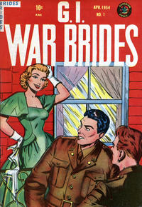 Cover Thumbnail for G.I. War Brides (Superior Publishers Limited, 1954 series) #1