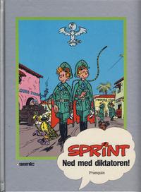 Cover Thumbnail for Sprint [Seriesamlerklubben] (Semic, 1986 series) #[9] - Ned med diktatoren!