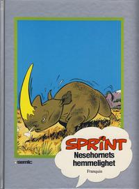 Cover Thumbnail for Sprint [Seriesamlerklubben] (Semic, 1986 series) #[8] - Nesehornets hemmelighet