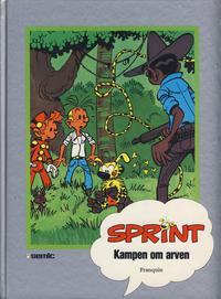 Cover Thumbnail for Sprint [Seriesamlerklubben] (Semic, 1986 series) #[7] - Kampen om arven