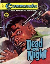 Cover Thumbnail for Commando (D.C. Thomson, 1961 series) #727