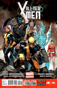 Cover Thumbnail for All-New X-Men (Marvel, 2013 series) #2