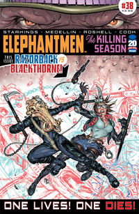 Cover Thumbnail for Elephantmen (Image, 2006 series) #38